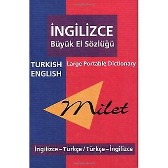 Milet Turkish-English/ English-Turkish Large Portable Dictionary