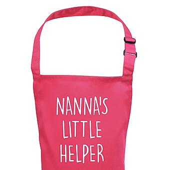 Children's Apron Girl's Nanna's Little Helper Pink Apron
