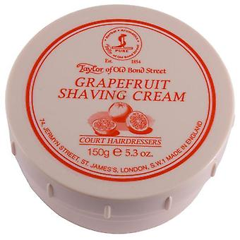 Taylor Of Old Bond Street Shaving Cream Pot 150g - Grapefruit