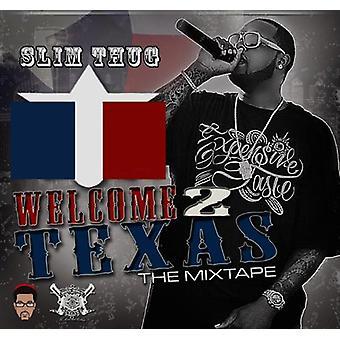 Slim Thug & Boss Hogg Outlawz - Welcome 2 Texas Official Mixtape [CD] USA import