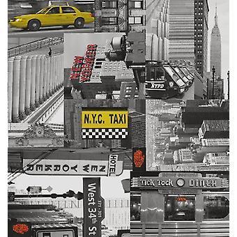 New York City wieder bildende Kunsthandwerk Fablon Vinyl dauerhaft selbst klebriger