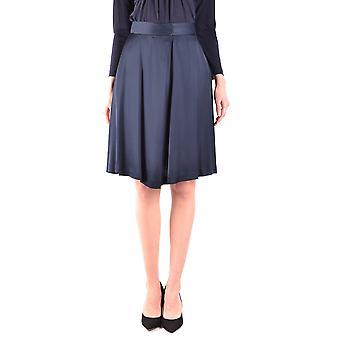 Armani Jeans Blue Viscose Skirt