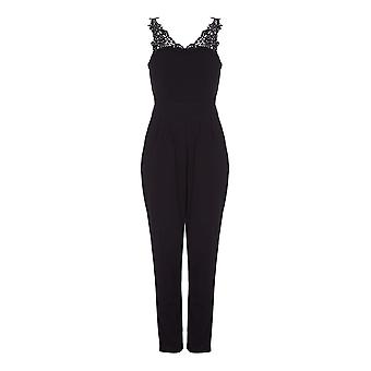 Mela Londen Womens/dames kant Strappy Jumpsuit