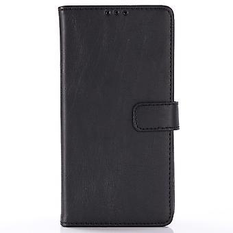 Samsung Galaxy S10 retro Wallet Case-zwart