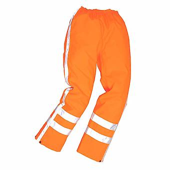 "Portwest - RWS Verkehr Hose Orange 46-47"" Taille - 31"" Bein"
