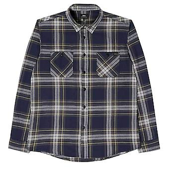 Edwin Jeans Labour Shirt Light Herringbone Flannel
