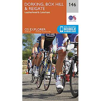 Dorking - Box Hill and Reigate (September 2015 ed) by Ordnance Survey