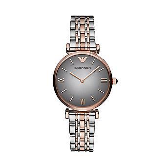 Emporio Armani Ar1725 dois tons clássico Senhoras relógio de luxo