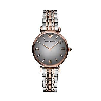 Emporio Armani Ar1725 Two Tone Classic Luxury Ladies Watch