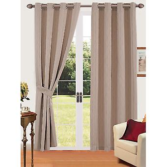 Comfort Collection Eyelet verho-Link (Taupe)