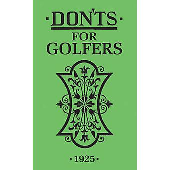 Donts for Golfers