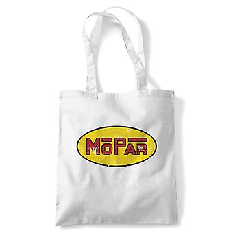 Mopar American Muscle Tote - Reusable Shopping Canvas Bag Gift