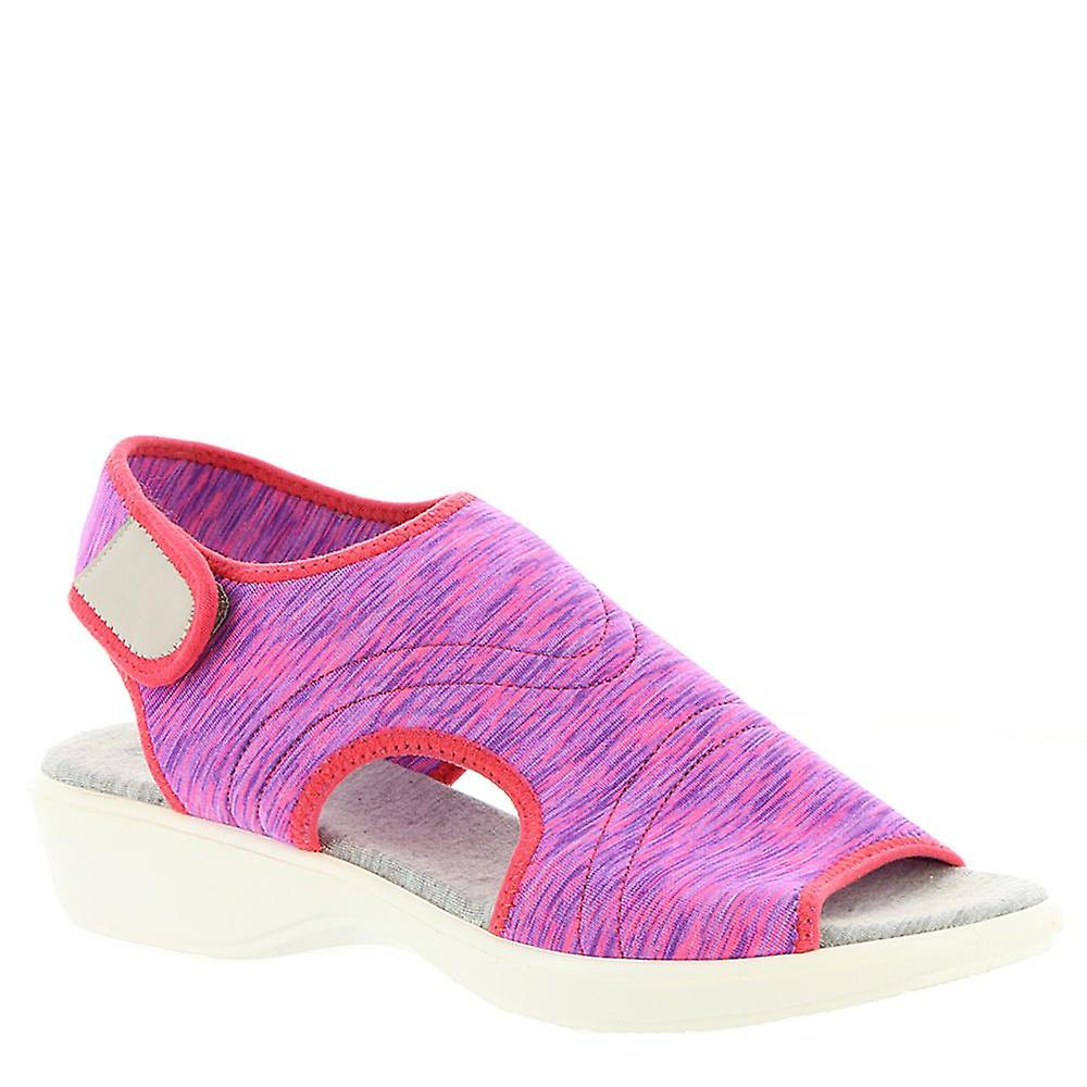 Beacon Womens Jodie Fabric Open Toe Casual Ankle Strap Sandals a6Vit