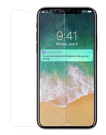 iCoverCase | iPhone XR | 2- Pack Skärmskydd | Härdat Glas