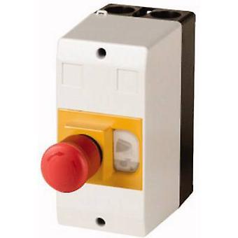 Eaton CI-PKZ01-PVT Gehäuse Oberflächenhalterung, + Kill-Schalter (L x B x H) 80 x 97 x 160 mm Grau, Gelb, Rot, Schwarz 1 Stk.