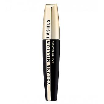 L'Oreal volume Million wimpers mascara-extra zwart
