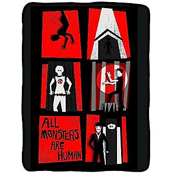 Blanket - American Horror Story - All Monsters are Human New cfb-ahs-almvec