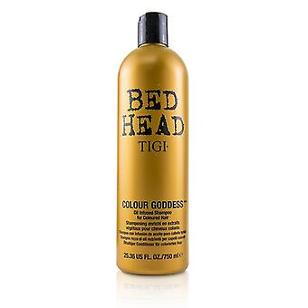 Bed Head Colour Goddess Oil Infused Shampoo - For Coloured Hair (cap) - 750ml/25.36oz