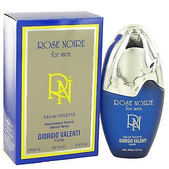 Rose noire eau de toilette spray by giorgio valenti   401122 100 ml