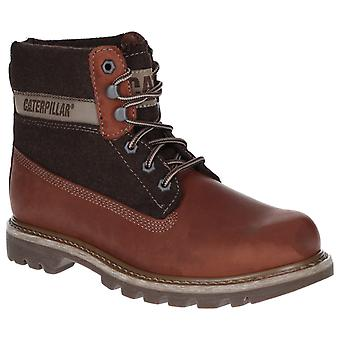 CAT Lifestyle Mens Colorado Wol Lace Up Boot Brown