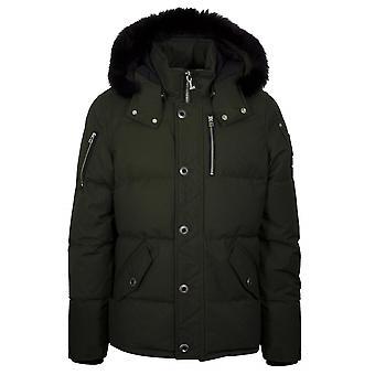 Moose Knuckles Khaki 3Q Fur Hood Jacket