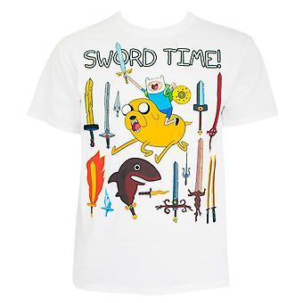 Adventure Time Sword Time Tee Shirt