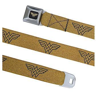 Wonder kvinna symbol guld bältes bälte