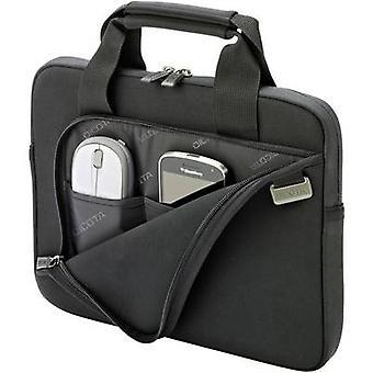 ديكوتا حقيبة كمبيوتر محمول الجلد الذكية مناسبة لمدة تصل إلى: 31,8 سم (12,5) أسود