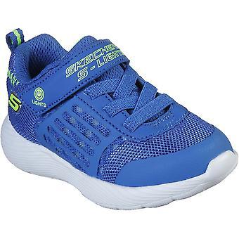 Skechers Boys Dyna-Lights Light Up Slip On Trainers Shoes