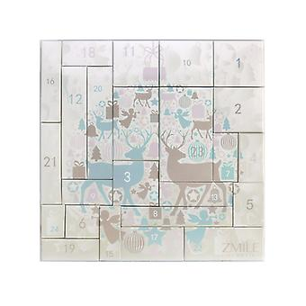 Zmile Cosmetics Kalendarz adwentowy puzzle renifery