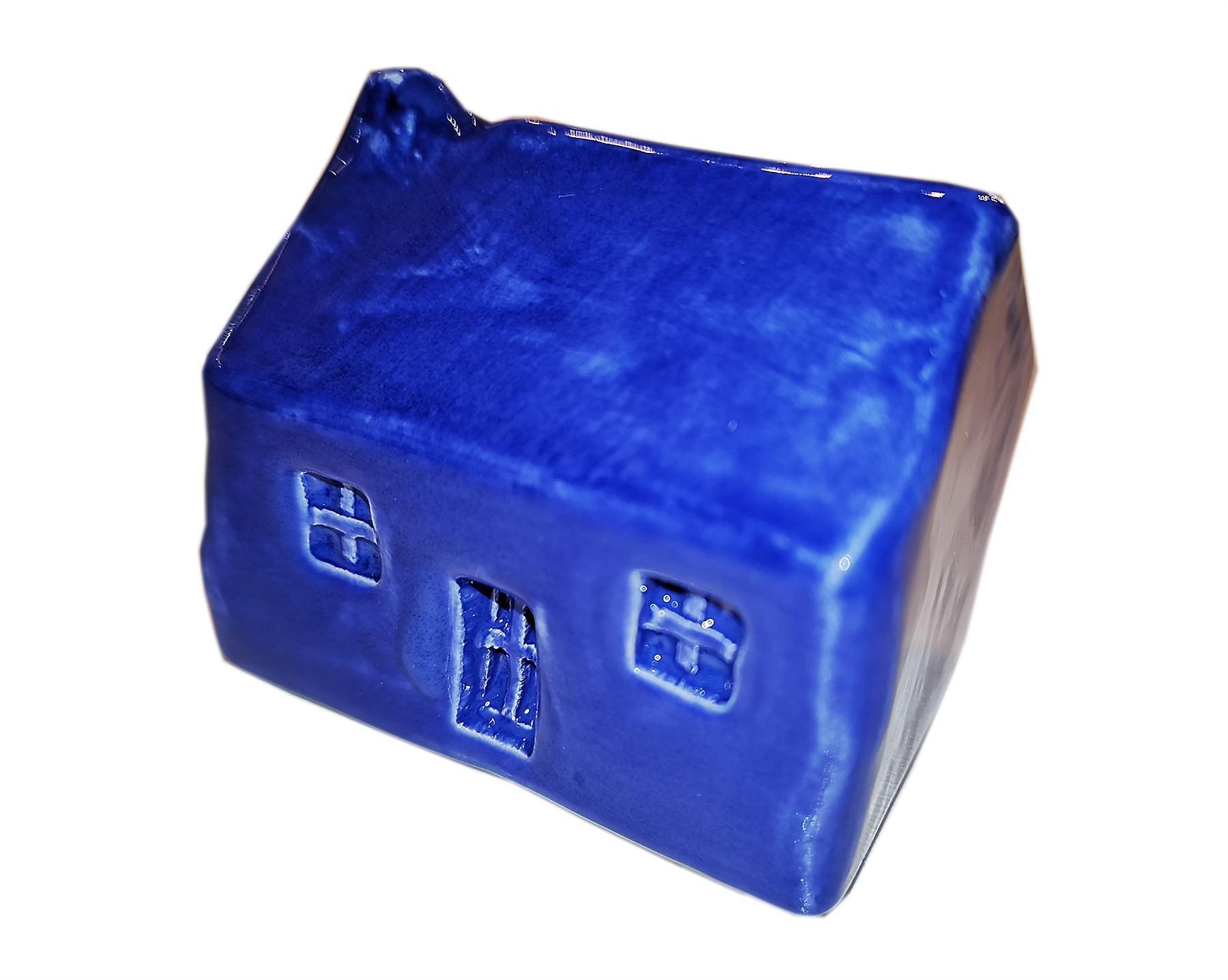 Glenshee Pottery Original Wee Highland Bothy Navy Blue