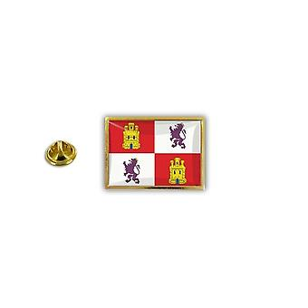 Pins Pin Badge Pin's Metal Epoxy Avec Pince Papillon Drapeau Castilla Y Leon