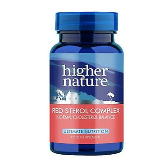 Higher Nature Rouge Sterol Complex Vegetable Capsules 90