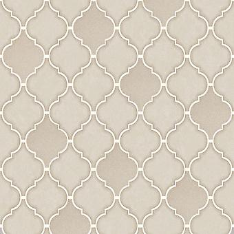 Mosaico en un Roll Trellis Azulejo Wallpaper Holden