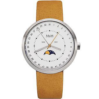 M & M Germany M11949-023 Moon Men's Watch