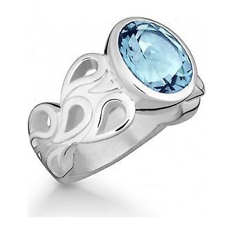 QUINN - Ring - Damen - Silber 925 - Weite 56 - 021074658