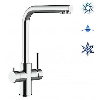 Inox 5 Way Filter Tap, Single Lever And 3positon Selector Handle - Polished Finish - 339