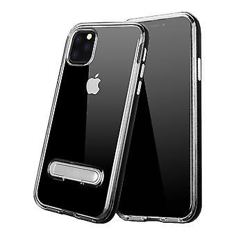 كيس Kickstand لأبل اي فون 11 برو (5.8) أسود شفاف
