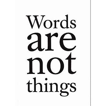 Words are Not Things by Jack Gardner - 9780572030407 Book
