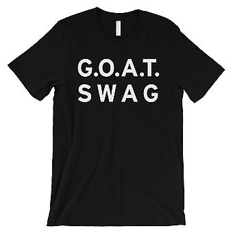 365 Printing GOAT Swag Mens Black Inspirational Motto Best T-Shirt For Friend