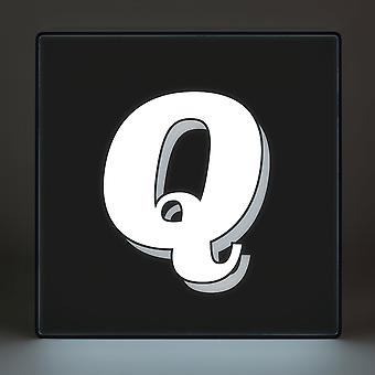 Q Alphabet Lightbox