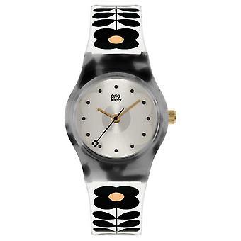オルラ・キーリー・ベイビー・ボビー |亀甲製プラスチックケース |クリームストラップ OK2324 腕時計