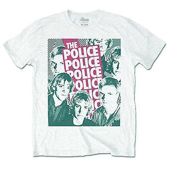Politiet sting 80s profiler rock officielle T-shirt