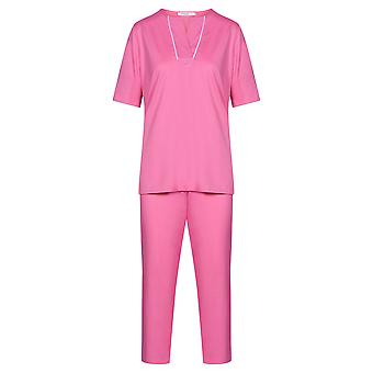 Féraud 3883173-10012 Women's High Class Pink Cotton Pyjama Set