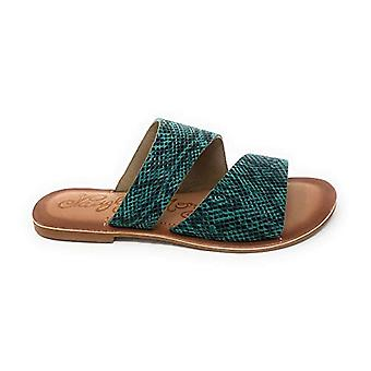 Naughty Monkey Women's Spirited Turquoise Sandals