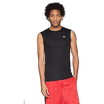 Starter Men's Sleeveless Muscle Tech T-Shirt,  Exclusive, Black, Extra Large