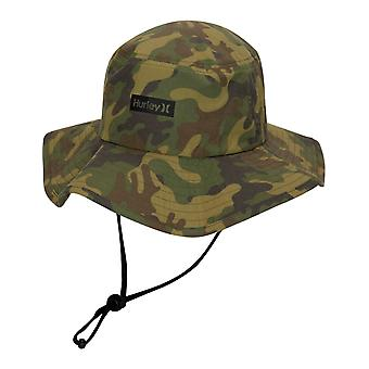 Hurley Vagabond Printed Boonie Sun Hat in Camo Green