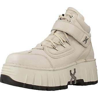 Bronx Shoes Booties Bronx Bmoon-walkk Color Offwhite