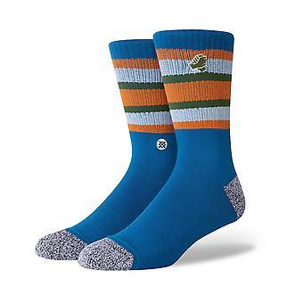 Stance Joan Pact Crew Socks in Blue