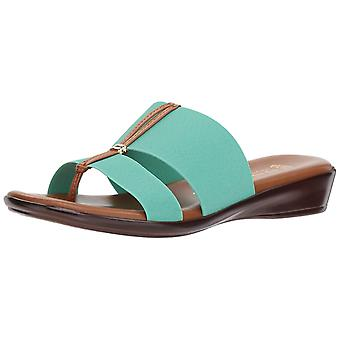 ITALIAN Shoemakers Womens Milla Open Toe Casual Slide Sandals